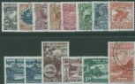 NZ SG2158-71 Centenary of 1898 Pictorial Stamps set of 14